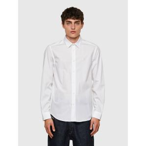 DIESEL S-BILL Long-sleeve shirt in cotton poplin 00SHYK
