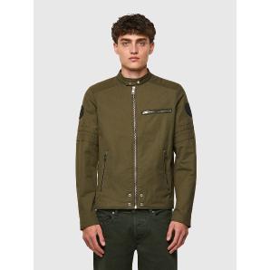DIESEL J-GLORY Cotton-blend biker jacket 00SKL8