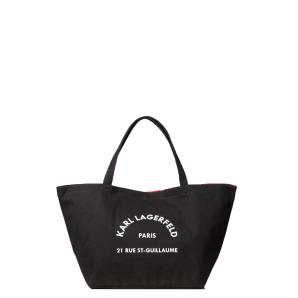Karl lagerfeld k/rue st.guillaume canvas tote 201W3138