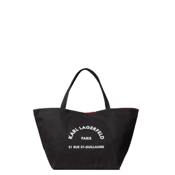 Karl lagerfeld k/rue st.guillaume canvas tote 201W3138-0