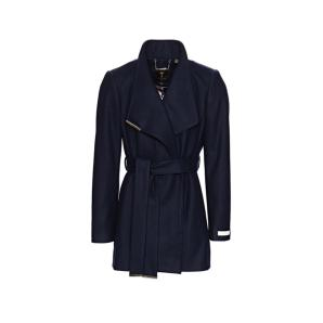 TED BAKER short wool wrap coat 249309