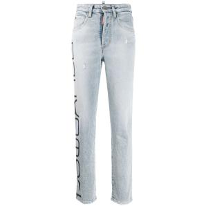 DSQUARED2 Tight Cropped Jeans S72LB0223