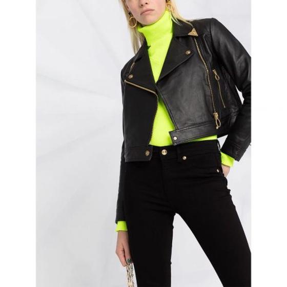 VERSACE black skinny jeans A1HWA0J5-3
