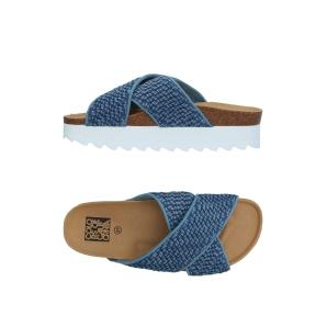Colors of California sandals in blue 47EBES05DEN