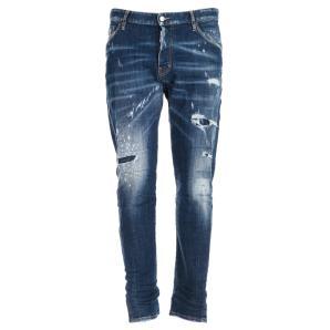 DSQUARED Medium Holes Classic Kenny Jeans S71LB0633