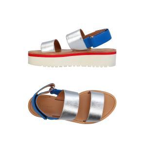 Dondup silver sandal WS109