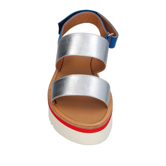 Dondup silver sandal WS109 -1