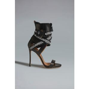 Dsquared2 acid glam punk tape sandals HSW010004601558M063