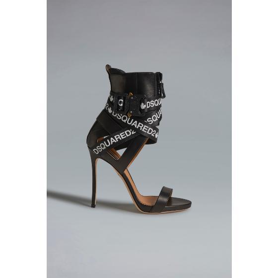 Dsquared2 acid glam punk tape sandals HSW010004601558M063-0