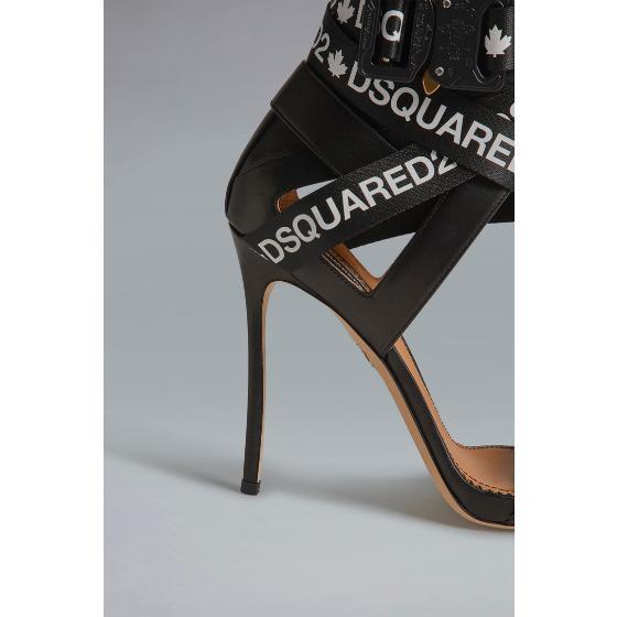 Dsquared2 acid glam punk tape sandals HSW010004601558M063-1