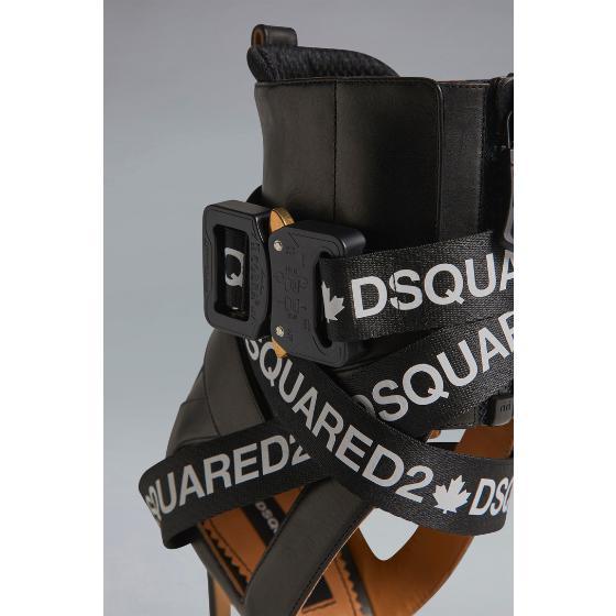 Dsquared2 acid glam punk tape sandals HSW010004601558M063-3