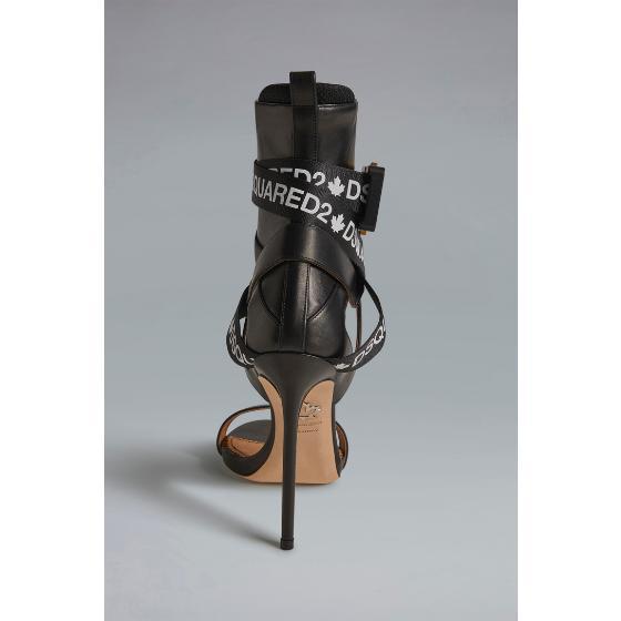 Dsquared2 acid glam punk tape sandals HSW010004601558M063-2