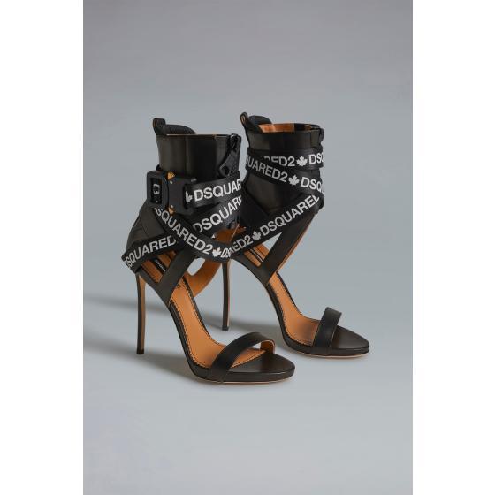 Dsquared2 acid glam punk tape sandals HSW010004601558M063-4