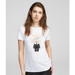 Karl Lagerfeld ikonik karl t-shirt 201W1713
