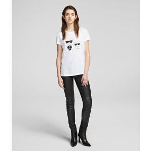 Karl Lagerfeld karl  & choupette ikonik tee 201W1705