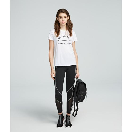 Karl lagerfeld address tee 200W1741-0