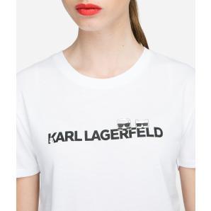 KARL LAGERFELD K/IKONIK LOGO T-SHIRT 91KW1740