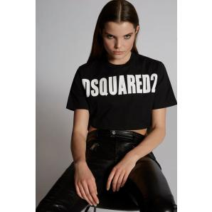 Dsquared2 Cropped T-Shirt S72GD0149