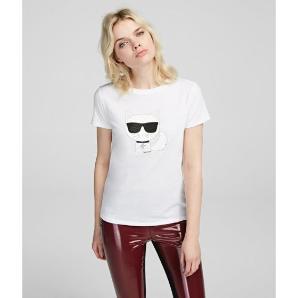 Karl Lagerfeld k/ikonik choupette tee 201W1718