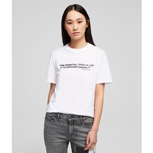 Karl lagerfeld karlism t-shirt 200W1792