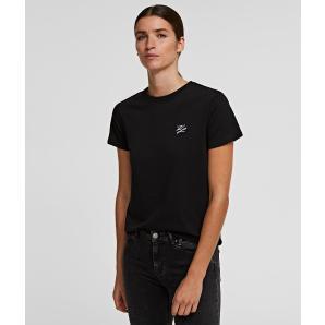KARL LAGERFELD kl signature t-shirt 201W1780