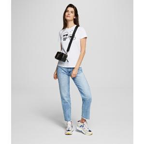 Karl Lagerfeld Karl pixel choupette t-shirt 201W1723