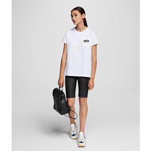 Karl Lagerfeld bauhaus logo pocket t-shirt 201W1730