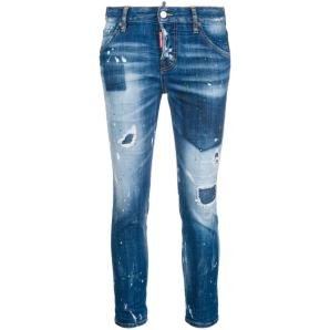 DSQUARED2 Cool girl cropped jeans S75LA0973