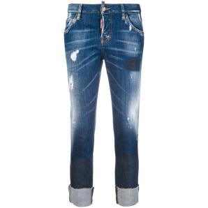 DSQUARED2 Cool girl cropped jeans S75LA0983