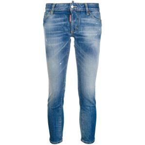 DSQUARED2 cropped twiggy jeans S75LB0005