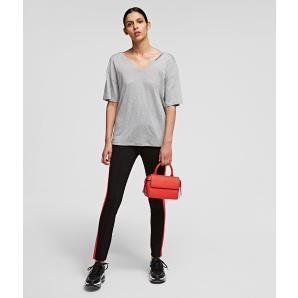 Karl Lagerfeld Double V neck Shirt 211W1701