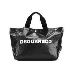 DSQUARED2 logo printed tote bag small SPW000608100001