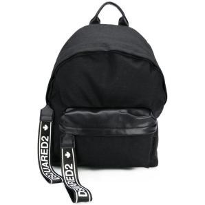 DSQUARED2 branded zip tab backpack BPM001611700001
