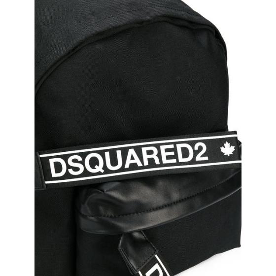 700a703dbdc5 DSQUARED2 branded zip tab backpack BPM001611700001-2
