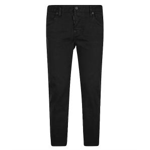 Dsquared2 S75LB0430 S39781 COOL GIRL CROPPED Jeans - Black