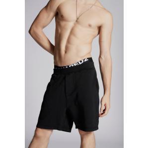 DSQUARED2 Brushed Cotton Fleece Shorts S74MU0523