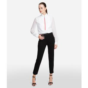 KARL LAGERFELD PUNTO TROUSERS WITH LOGO TAPE 96KW1011