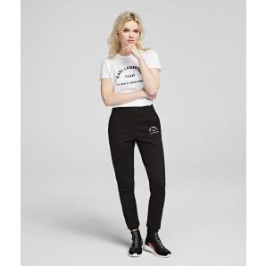 Karl Lagerfeld address logo joggers 96KW1050