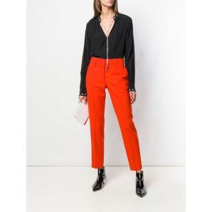 MICHAEL KORS chain-embellished blouse MU84LJR96K