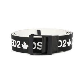 DSQUARED2 logo printed belt BEM016820201560