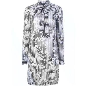MICHAEL KORS floral-print shirt dress MH88YH2AGS