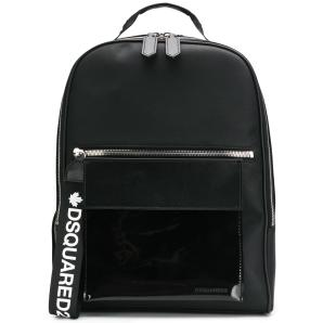 DSQUARED2 logo strap backpack BPM002008101665