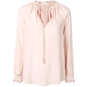 MICHAEL KORS chain link blouse MU84LJR96K