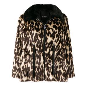 PINKO leopard print coat 1G1469