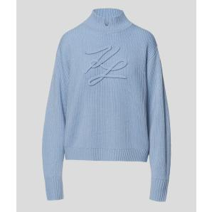 KARL LAGERFELD soutache signature jumper 206W2013