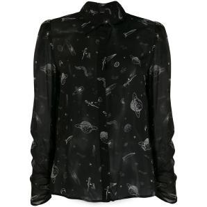 PINKO space print shirt 1B145W