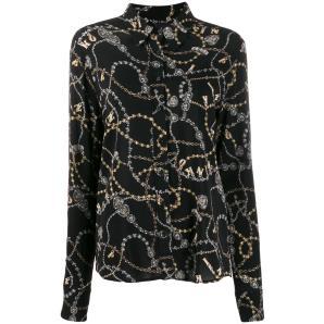 PINKO jewelry print shirt  1B1471
