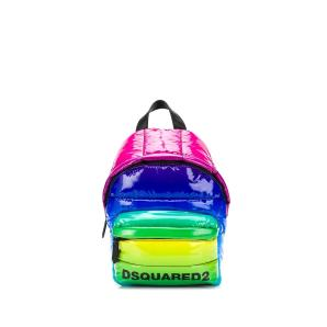 DSQUARED2 rainbow quilted backpack BPW0008 11202411-M377