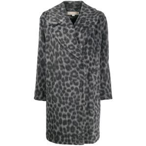 MICHAEL KORS leopard pattern coat MF92J14CBS