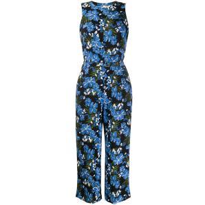 MICHAEL KORS floral print jumpsuit MH98X1KDFZ